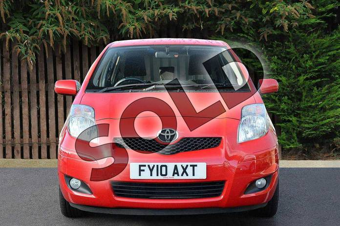 Image fourteen of this 2010 Toyota Yaris Hatchback 1.33 VVT-i TR 5dr (6) in Red Pop at Listers Toyota Coventry