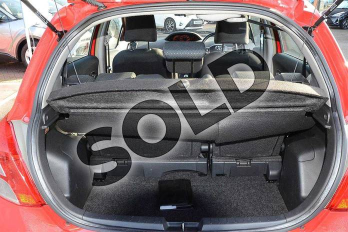 Image fifteen of this 2010 Toyota Yaris Hatchback 1.33 VVT-i TR 5dr (6) in Red Pop at Listers Toyota Coventry