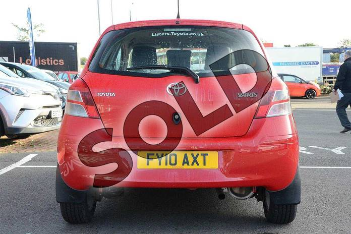Image nineteen of this 2010 Toyota Yaris Hatchback 1.33 VVT-i TR 5dr (6) in Red Pop at Listers Toyota Coventry