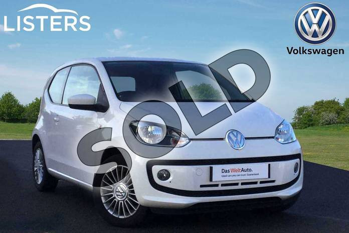 Picture of Volkswagen Up 1.0 High Up 3dr in Candy White