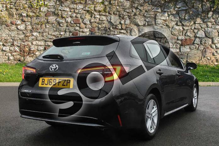 Image two of this 2019 Toyota Corolla Touring Sport 1.2T VVT-i Icon Tech 5dr in Eclipse Black at Listers Toyota Coventry