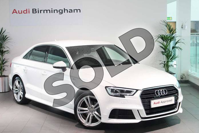 Picture of Audi A3 1.4 TFSI S Line 4dr in Ibis White