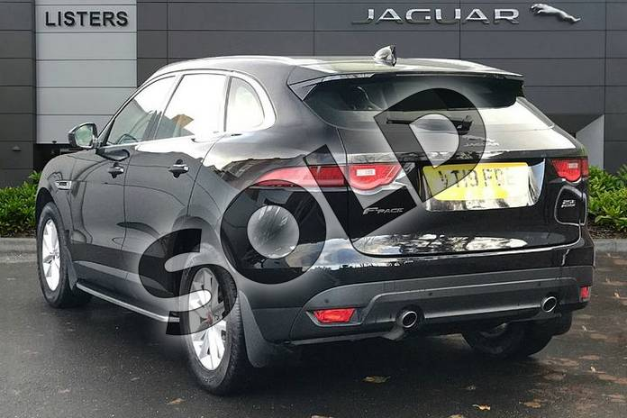 Image two of this 2019 Jaguar F-PACE Diesel Estate 2.0d (240) Prestige 5dr Auto AWD in Santorini Black at Listers Jaguar Droitwich