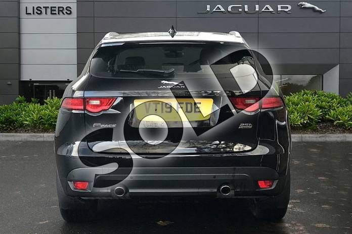 Image six of this 2019 Jaguar F-PACE Diesel Estate 2.0d (240) Prestige 5dr Auto AWD in Santorini Black at Listers Jaguar Droitwich