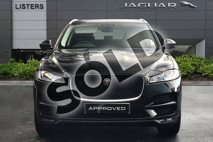 Image seven of this 2019 Jaguar F-PACE Diesel Estate 2.0d (240) Prestige 5dr Auto AWD in Santorini Black at Listers Jaguar Droitwich