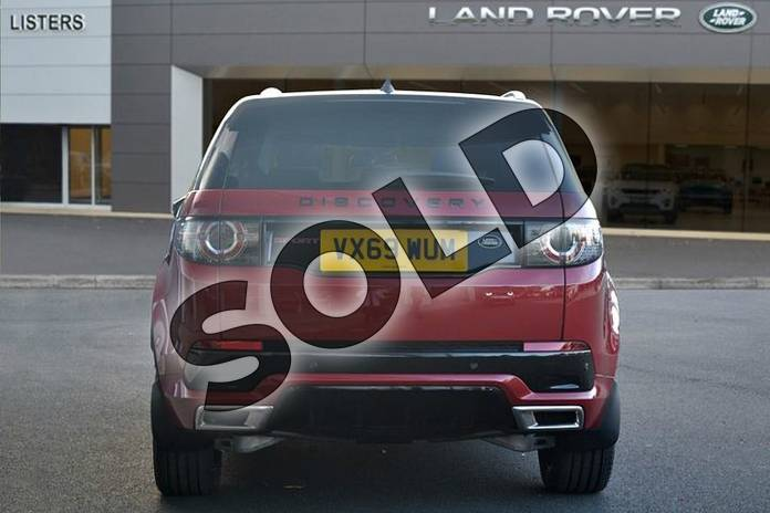 Image six of this 2019 Land Rover Discovery Sport Diesel SW 2.0 TD4 180 HSE Luxury 5dr Auto (5 Seat) in Firenze Red at Listers Land Rover Hereford