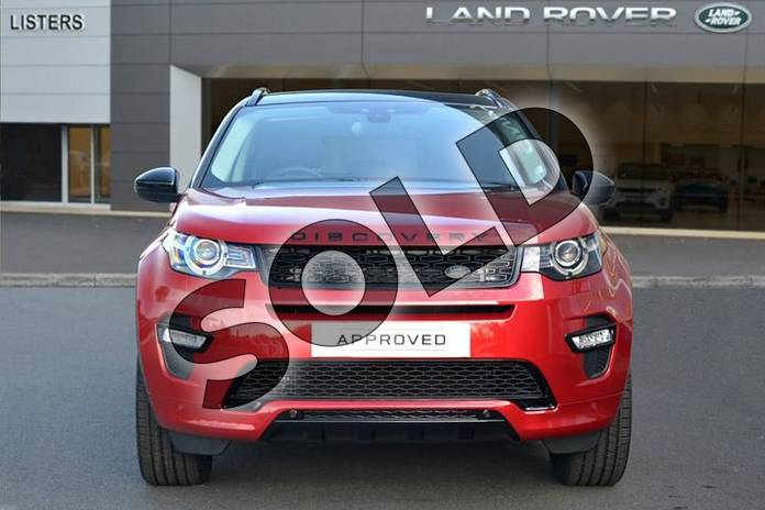 Image seven of this 2019 Land Rover Discovery Sport Diesel SW 2.0 TD4 180 HSE Luxury 5dr Auto (5 Seat) in Firenze Red at Listers Land Rover Hereford