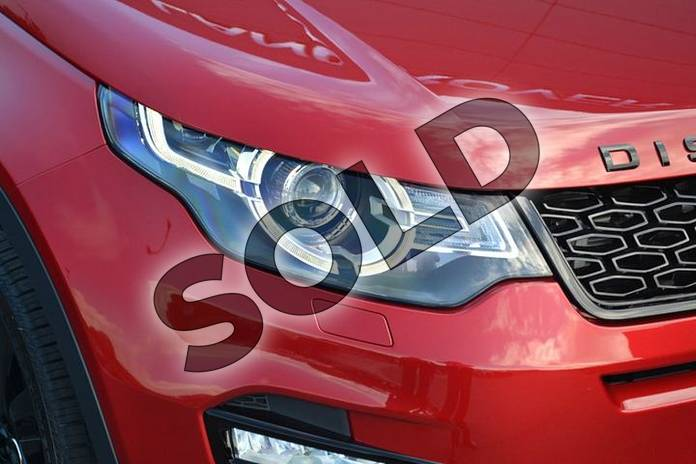 Image eleven of this 2019 Land Rover Discovery Sport Diesel SW 2.0 TD4 180 HSE Luxury 5dr Auto (5 Seat) in Firenze Red at Listers Land Rover Hereford