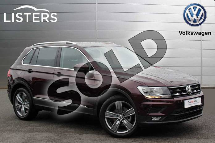 Picture of Volkswagen Tiguan 2.0 TDI 150 Match 5dr in Crimson Red