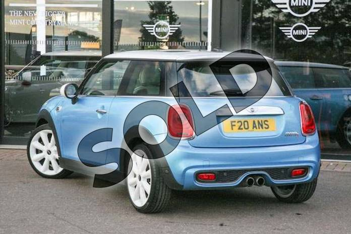 Image two of this 2014 MINI Hatchback 2.0 Cooper S 3dr Auto in Electric Blue at Listers Boston (MINI)