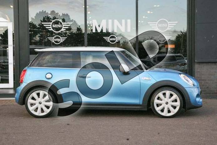 Image three of this 2014 MINI Hatchback 2.0 Cooper S 3dr Auto in Electric Blue at Listers Boston (MINI)