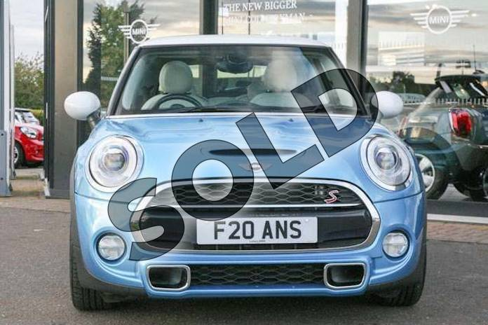 Image eleven of this 2014 MINI Hatchback 2.0 Cooper S 3dr Auto in Electric Blue at Listers Boston (MINI)
