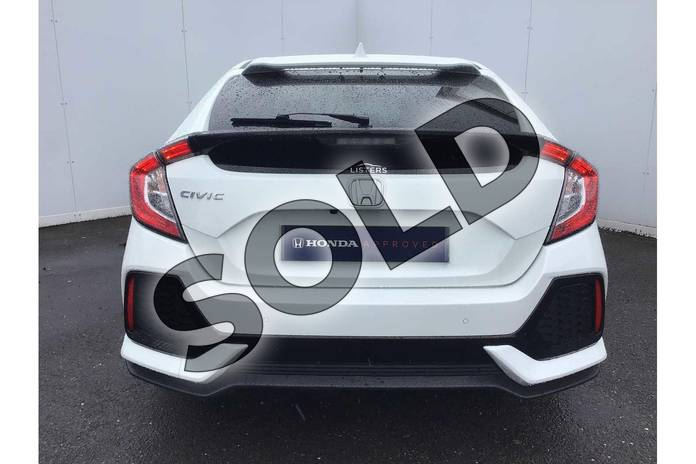 Image seven of this 2018 Honda Civic Hatchback 1.0 VTEC Turbo SR 5dr in White Orchid at Listers Honda Solihull