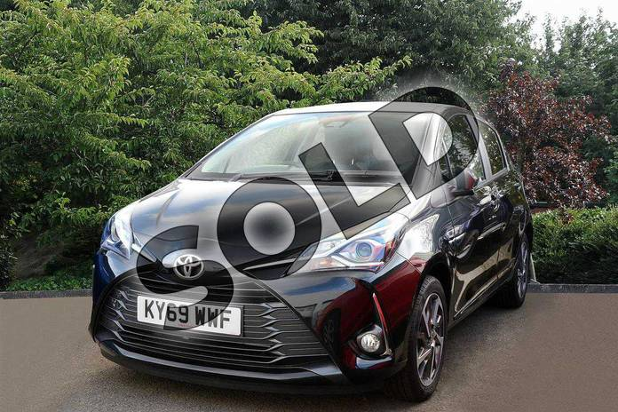 Image nine of this 2019 Toyota Yaris Hatchback 1.5 VVT-i Y20 5dr (Bi-tone) in Black at Listers Toyota Nuneaton