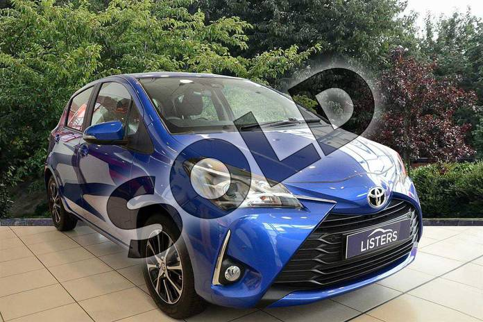 Picture of Toyota Yaris 1.5 VVT-i Icon Tech 5dr in Blue