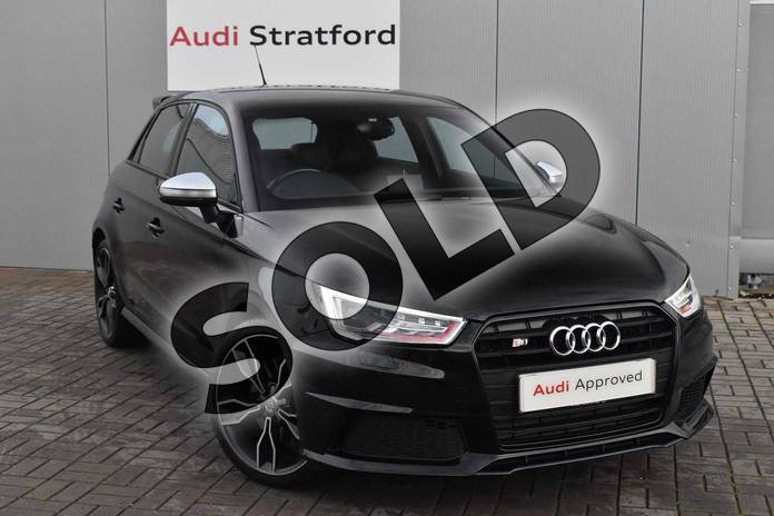 Picture of Audi A1 S1 TFSI Quattro 5dr in Myth Black Metallic