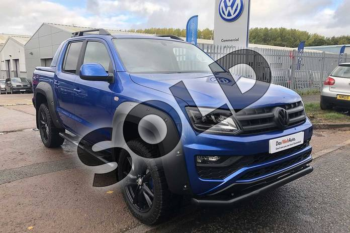 Picture of Volkswagen Amarok D/Cab Pick Up Highline 3.0 V6 TDI 258 BMT 4M Auto in Ravenna Blue Metallic