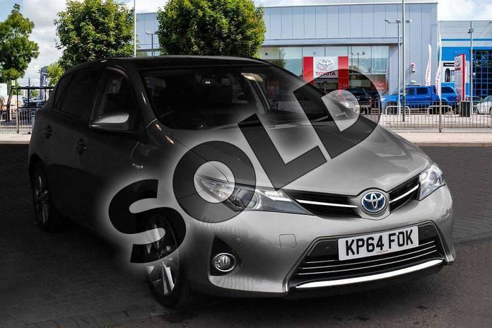 Picture of Toyota Auris 1.8 VVTi Hybrid Excel 5dr CVT Auto in Avantgarde Bronze