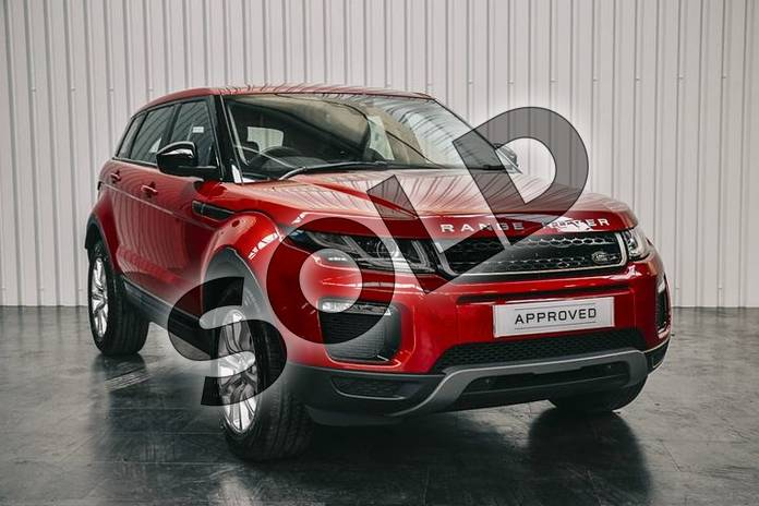 Picture of Range Rover Evoque 2.0 eD4 (150hp) SE Tech in Firenze Red