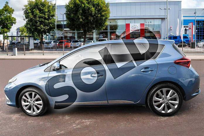 Image five of this 2016 Toyota Auris Hatchback 1.8 Hybrid Excel 5dr CVT in Denim Blue at Listers Toyota Cheltenham