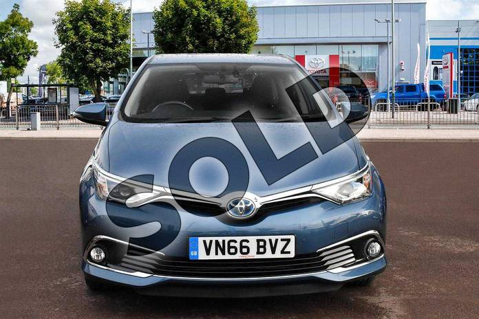 Image seven of this 2016 Toyota Auris Hatchback 1.8 Hybrid Excel 5dr CVT in Denim Blue at Listers Toyota Cheltenham