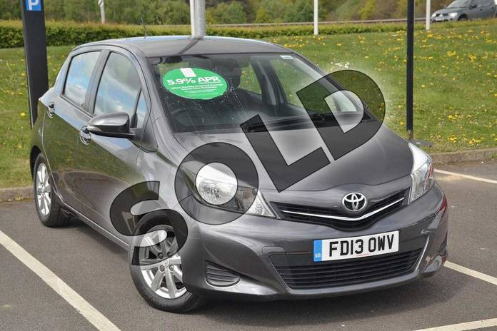 Picture of Toyota Yaris 1.33 VVT-i TR 5dr in Decuma Grey