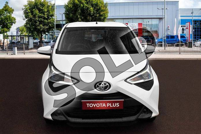 Image seven of this 2019 Toyota Aygo Hatchback 1.0 VVT-i X-Play 5dr in White Flash at Listers Toyota Cheltenham