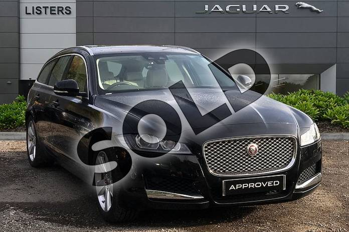 Picture of Jaguar XF Sportbrake 2.0i Portfolio 5dr Auto in Narvik Black