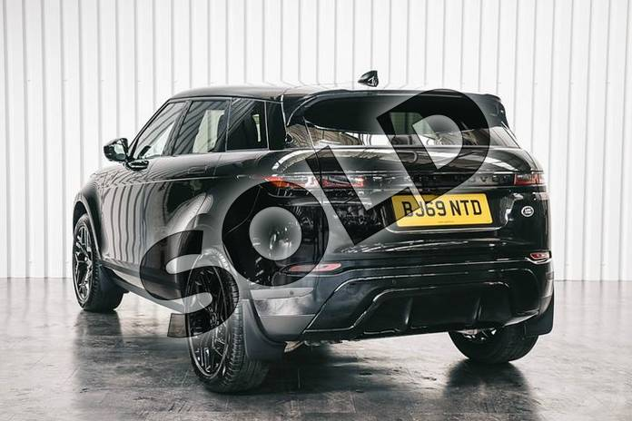 Image two of this 2019 Range Rover Evoque Diesel Hatchback 2.0 D180 SE 5dr Auto in Santorini Black at Listers Land Rover Solihull