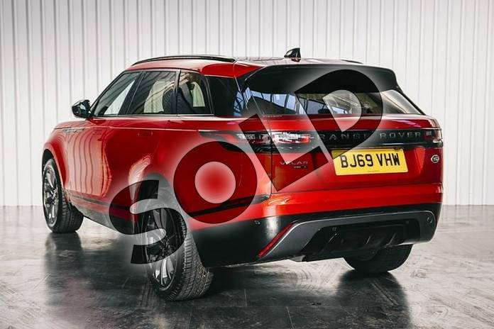 Image two of this 2019 Range Rover Velar Diesel Estate Diesel 2.0 D180 R-Dynamic S 5dr Auto in Firenze Red at Listers Land Rover Solihull