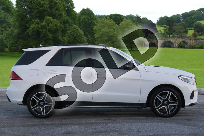 Image four of this 2018 Mercedes-Benz GLE Diesel Estate Diesel GLE 250d 4Matic AMG Night Edition 5dr 9G-Tronic in polar white at Mercedes-Benz of Hull