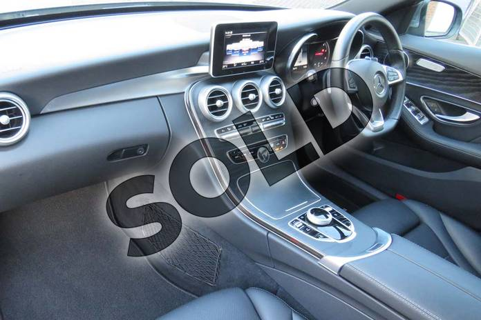 Image three of this 2018 Mercedes-Benz C Class Diesel Estate Diesel C220d AMG Line 5dr 9G-Tronic in selenite grey metallic at Mercedes-Benz of Boston