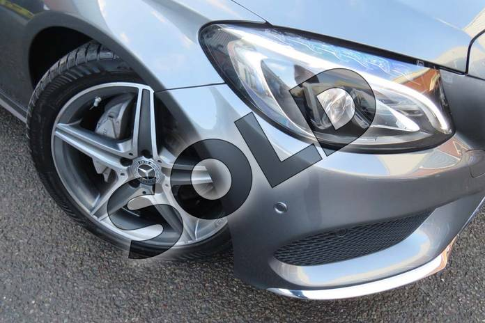 Image fourteen of this 2018 Mercedes-Benz C Class Diesel Estate Diesel C220d AMG Line 5dr 9G-Tronic in selenite grey metallic at Mercedes-Benz of Boston