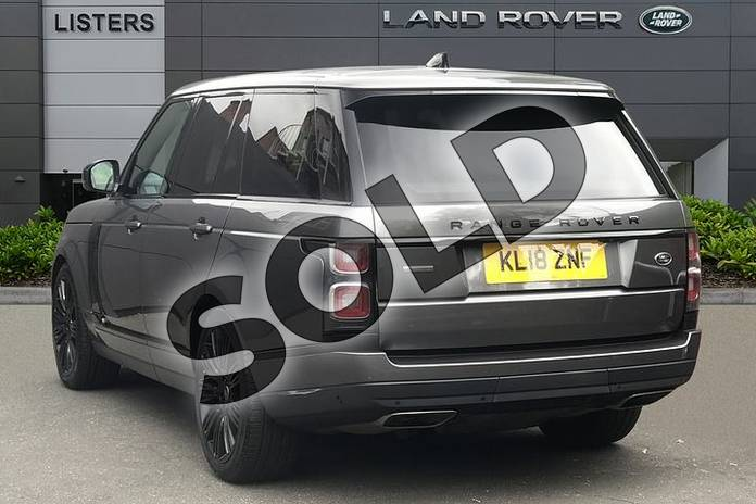 Image two of this 2018 Range Rover Diesel Estate Diesel 4.4 SDV8 Autobiography 4dr Auto in Corris Grey at Listers Land Rover Droitwich
