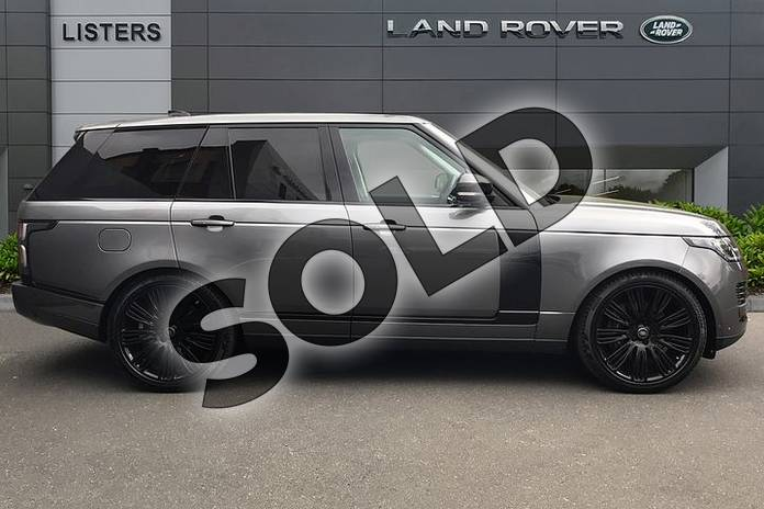 Image five of this 2018 Range Rover Diesel Estate Diesel 4.4 SDV8 Autobiography 4dr Auto in Corris Grey at Listers Land Rover Droitwich