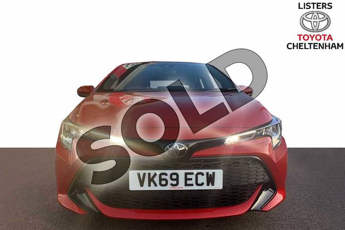 Image ten of this 2019 Toyota Corolla Hatchback 1.2T VVT-i Icon 5dr in Scarlet Flare at Listers Toyota Cheltenham