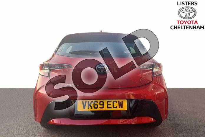 Image eleven of this 2019 Toyota Corolla Hatchback 1.2T VVT-i Icon 5dr in Scarlet Flare at Listers Toyota Cheltenham