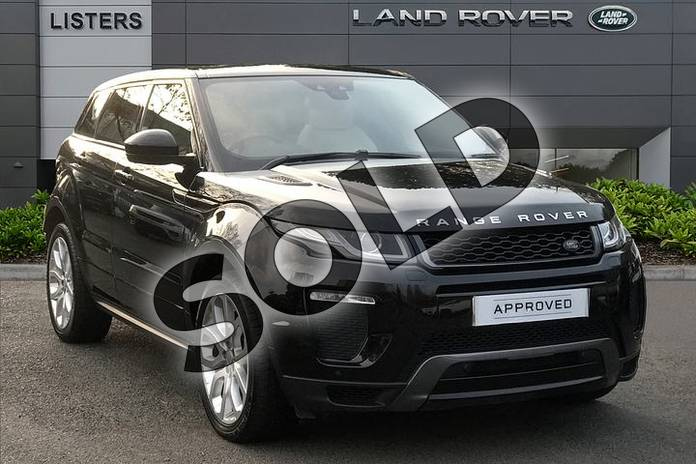 Picture of Range Rover Evoque 2.0 TD4 (180hp) HSE Dynamic in Santorini Black