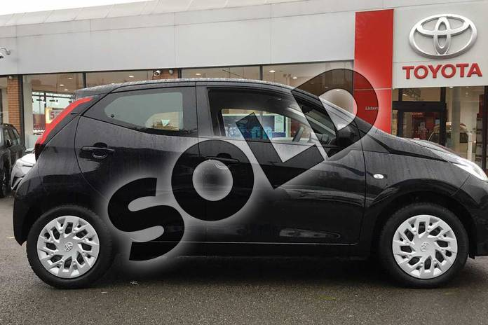 Image sixteen of this 2019 Toyota Aygo Hatchback 1.0 VVT-i X-Play 5dr in Bold Black at Listers Toyota Coventry