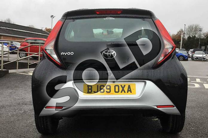 Image nineteen of this 2019 Toyota Aygo Hatchback 1.0 VVT-i X-Play 5dr in Bold Black at Listers Toyota Coventry