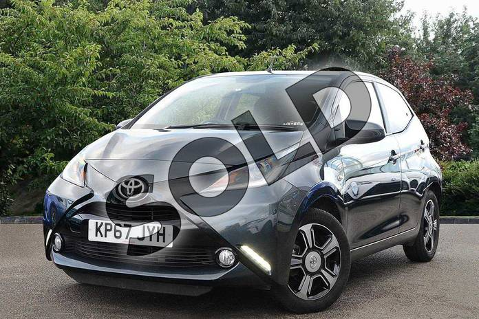 Image three of this 2017 Toyota AYGO Hatchback Special Editions Special Editions 1.0 VVT-i X-Clusiv 3 5dr in Grey at Listers Toyota Nuneaton