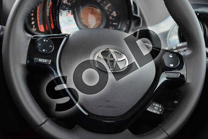 Image eight of this 2017 Toyota AYGO Hatchback Special Editions Special Editions 1.0 VVT-i X-Clusiv 3 5dr in Grey at Listers Toyota Nuneaton