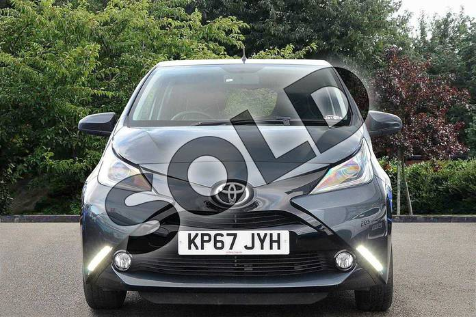 Image fourteen of this 2017 Toyota AYGO Hatchback Special Editions Special Editions 1.0 VVT-i X-Clusiv 3 5dr in Grey at Listers Toyota Nuneaton