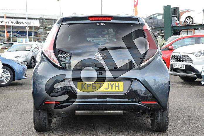 Image nineteen of this 2017 Toyota AYGO Hatchback Special Editions Special Editions 1.0 VVT-i X-Clusiv 3 5dr in Grey at Listers Toyota Nuneaton