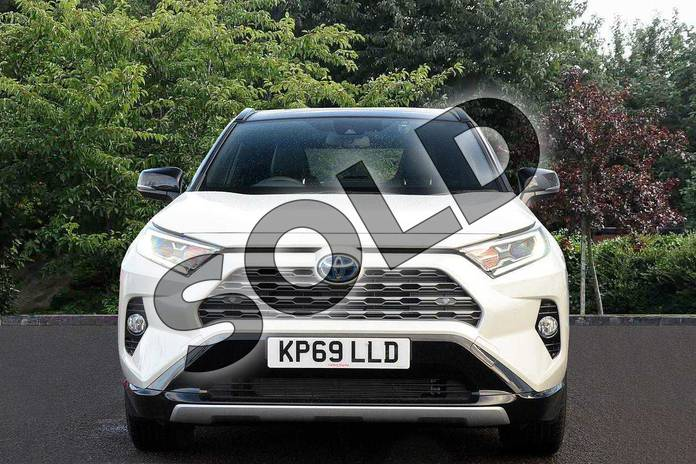 Image fourteen of this 2019 Toyota RAV4 Estate 2.5 VVT-i Hybrid Dynamic 5dr CVT in White at Listers Toyota Nuneaton