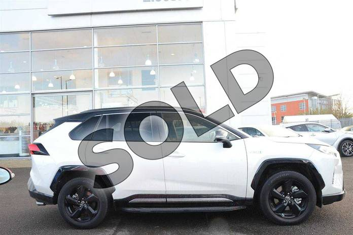 Image sixteen of this 2019 Toyota RAV4 Estate 2.5 VVT-i Hybrid Dynamic 5dr CVT in White at Listers Toyota Nuneaton