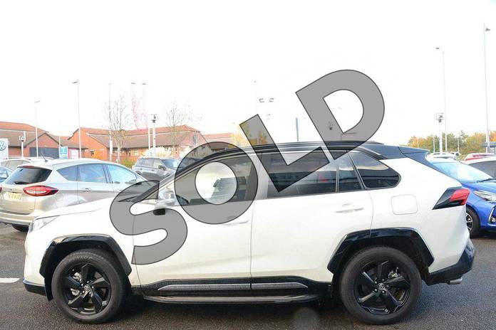 Image seventeen of this 2019 Toyota RAV4 Estate 2.5 VVT-i Hybrid Dynamic 5dr CVT in White at Listers Toyota Nuneaton