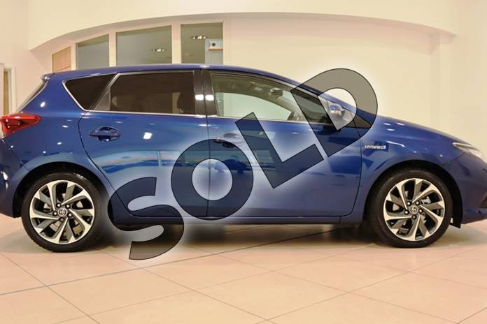 Image twenty-two of this 2016 Toyota Auris Hatchback 1.8 Hybrid Design 5dr CVT in Metallic - Orion blue at Listers U Northampton