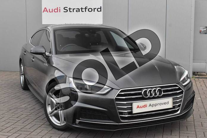 Picture of Audi A5 Diesel 2.0 TDI Ultra S Line 5dr S Tronic in Daytona Grey Pearlescent