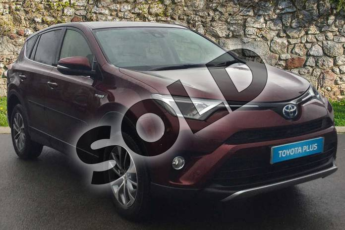 Picture of Toyota RAV4 2.5 VVT-i Hybrid Business Ed Plus TSS 5dr CVT 2WD in Barcelona Red